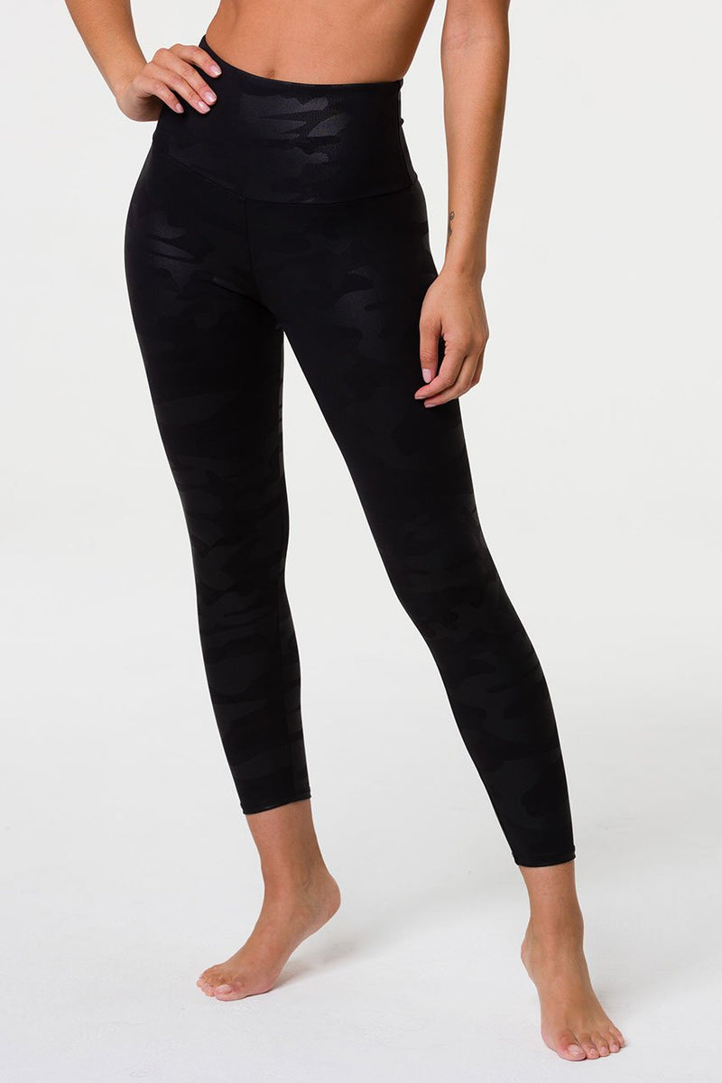 Jungle Foil Midi Legging