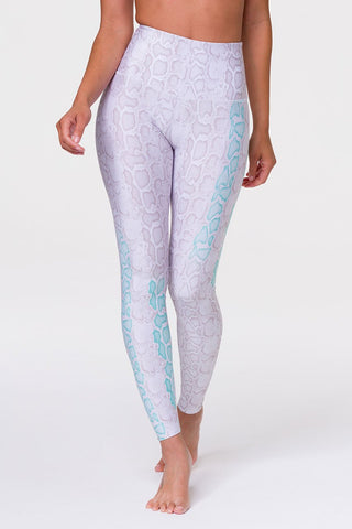 High Rise Graphic Legging Opal Viper