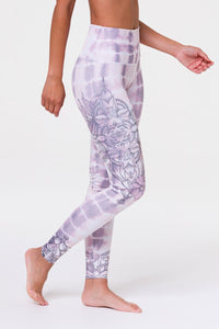 Tie Dye Mandala High Rise Graphic Legging