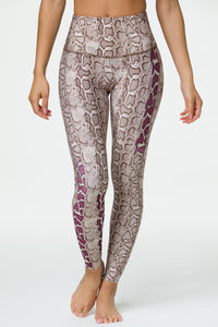 High Rise Graphic Legging Viper