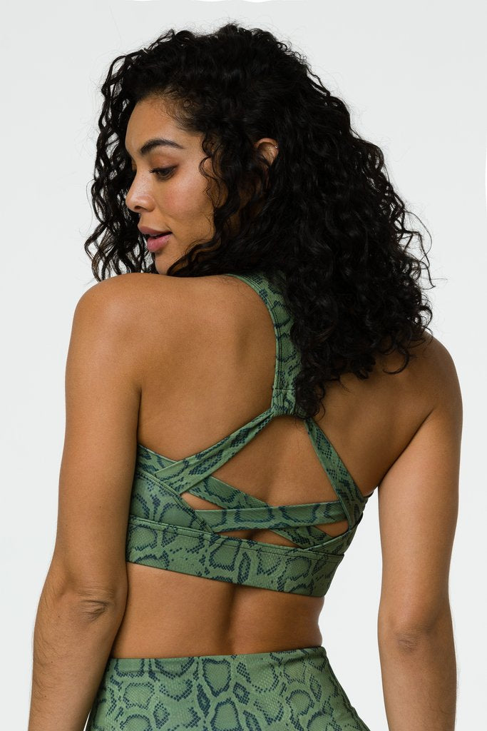 Warrior Bra Olive Cobra