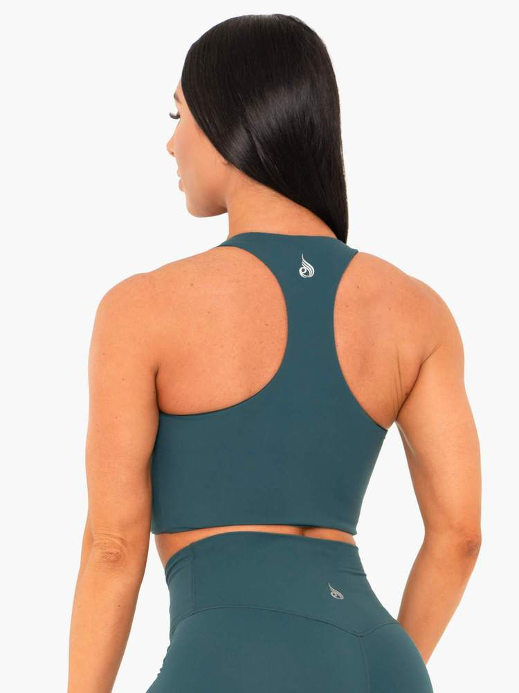 NKD Sports Bra Green