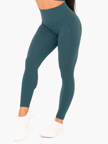 NKD High Waisted Leggings Green