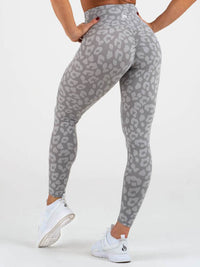 Instinct Scrunch Bum Leggings Leopard Grey