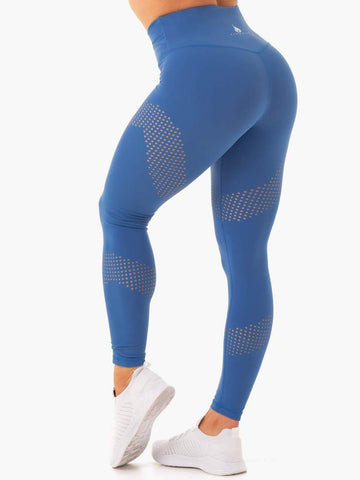 Impact High Waisted Leggings Cobalt Blue