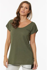 Top Cida Army Green