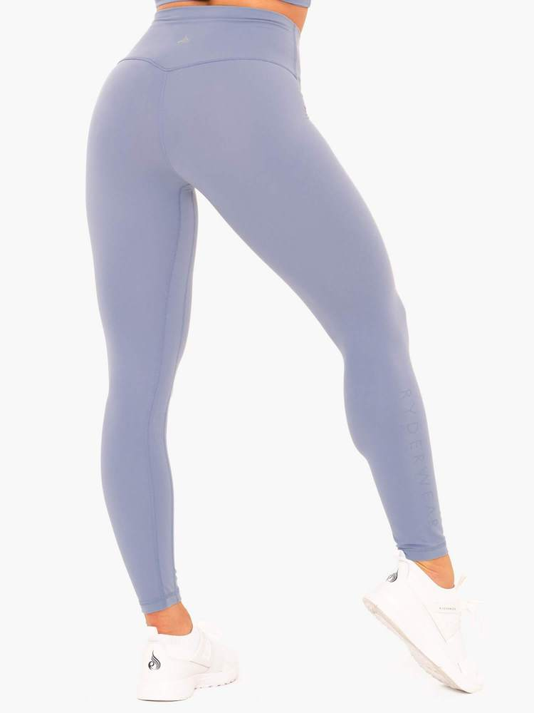 NKD High Waisted Leggings Blue