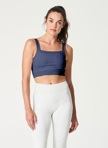 Snake Fundamentals Bra Blue