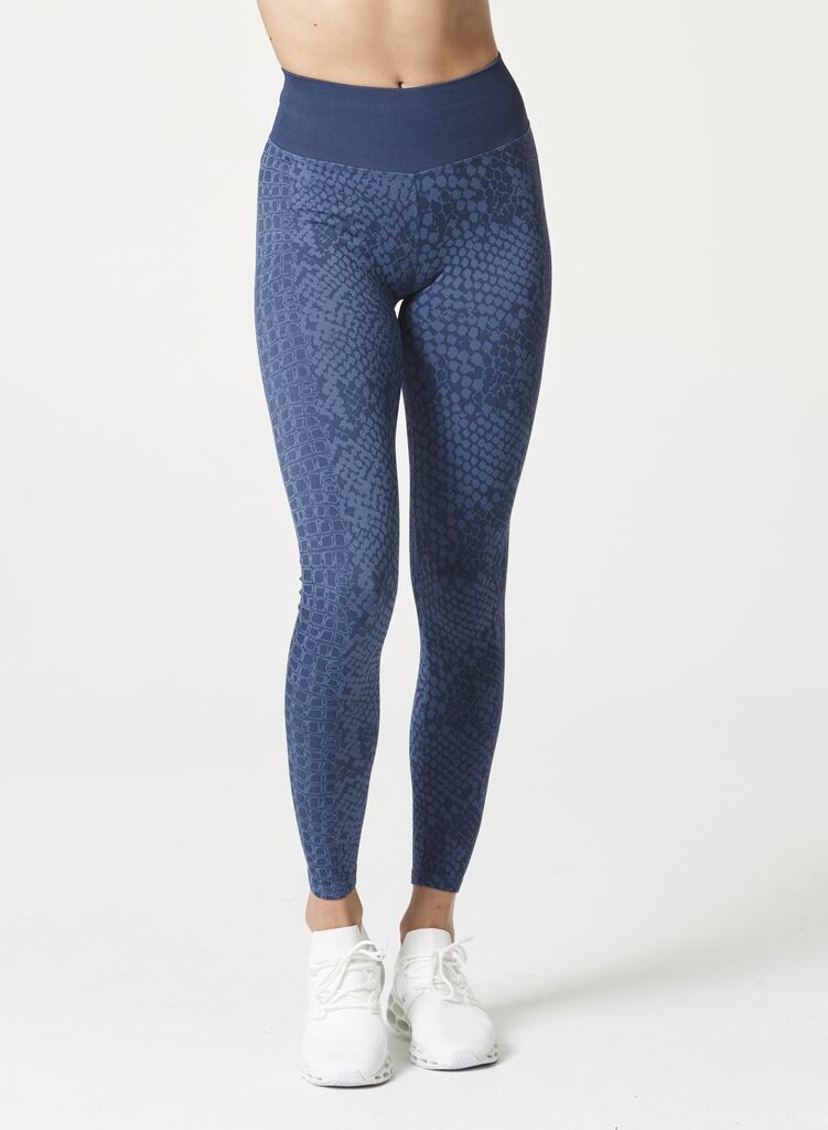 Snake Legging Blue