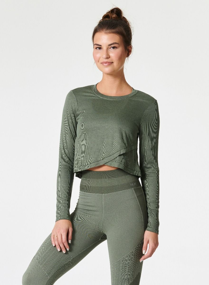 Sway Long Sleeve Green