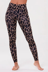 High Rise Legging Giraffe