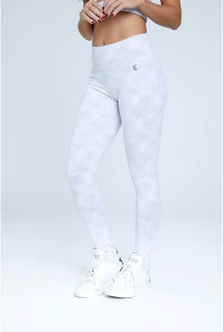 Legging Texture White
