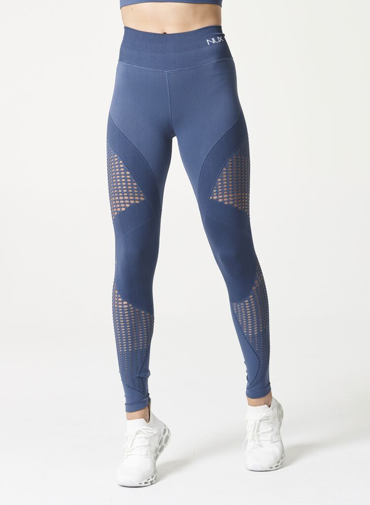 Breathe Mesh Legging Blue