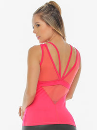Lyric Tank Top Coral