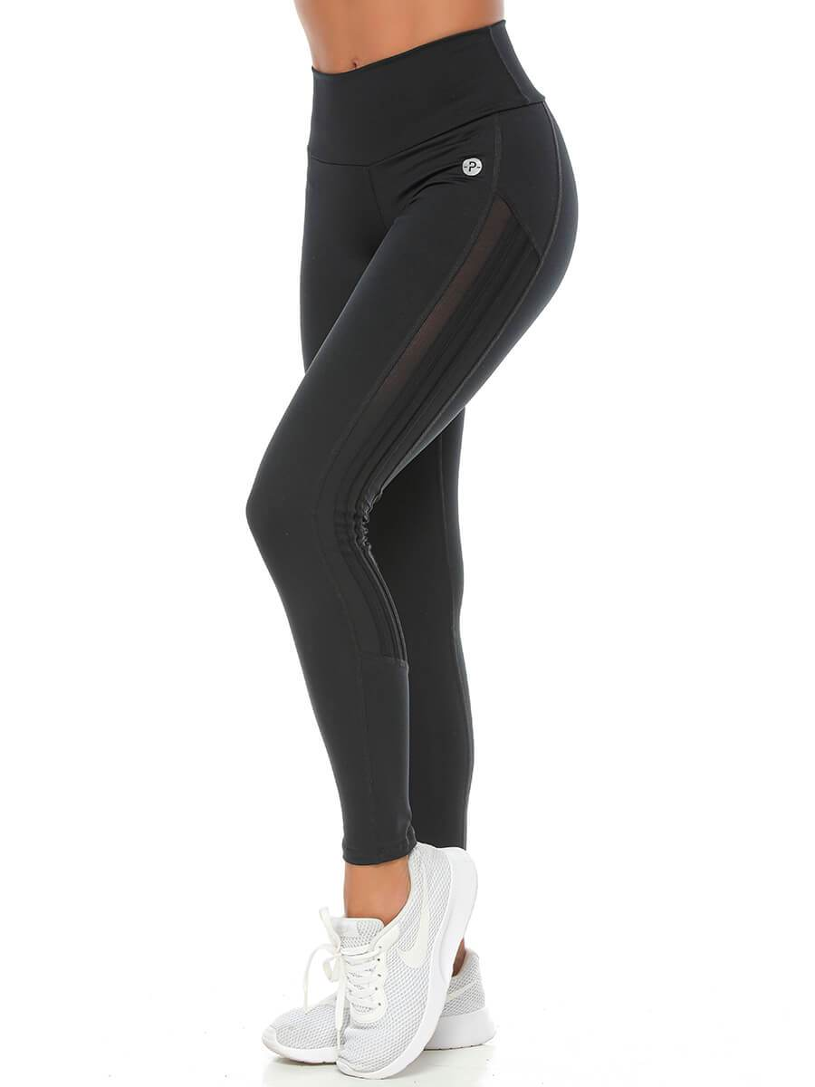 Susanna Leggings Black Stripe