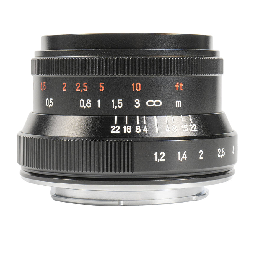 35mm MK II f/1.2 APS-C Manual Lens for M43 for Panasonic and Olympus