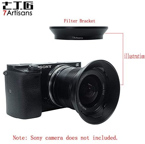 12mm Lens Hood & Filter Adapter