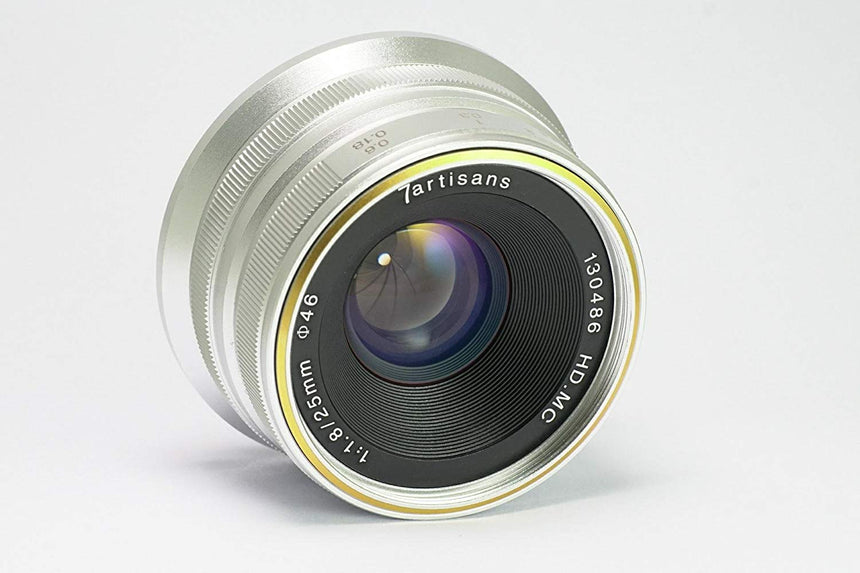 7Artisans 25mm f/1.8 Manual Focus Prime Fixed Lens for M43 for Panasonic & Olympus - 7Artisans UK