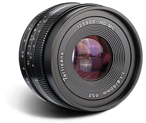 7Artisans 50mm f/1.8 APS-C Manual Lens for Canon EOS-M - 7Artisans UK