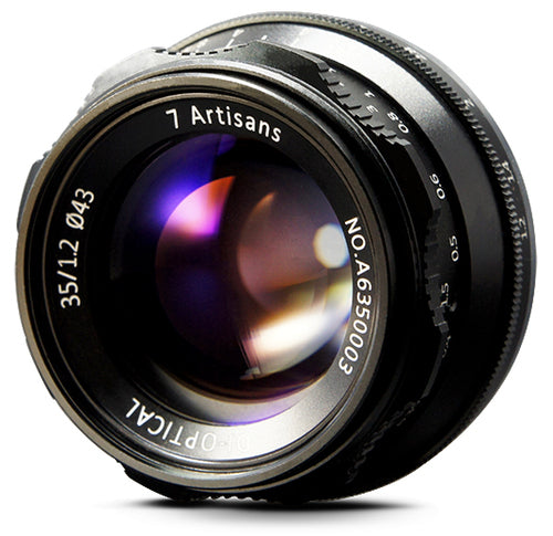 7Artisans 35mm f/1.2 APS-C Manual Lens for Fuji FX - 7Artisans UK