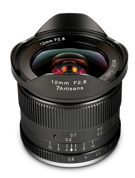 7Artisans 12mm f/2.8 APS-C Lens for Sony E Mount - 7Artisans UK