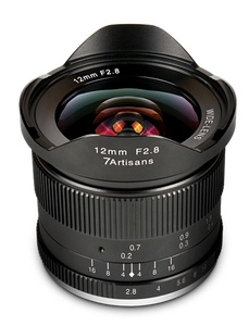 7Artisans 12mm f/2.8 APS-C Lens for M43 for Panasonic and Olympus - 7Artisans UK