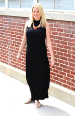 black multi way dress