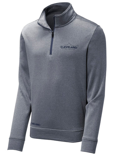 Quarter Zip - Heather Navy
