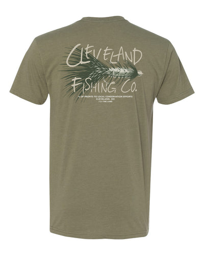 The Meat Tee - Olive Green