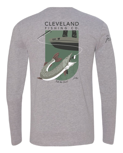 Zac Rorick Collection - Muskie Long Sleeve Tee
