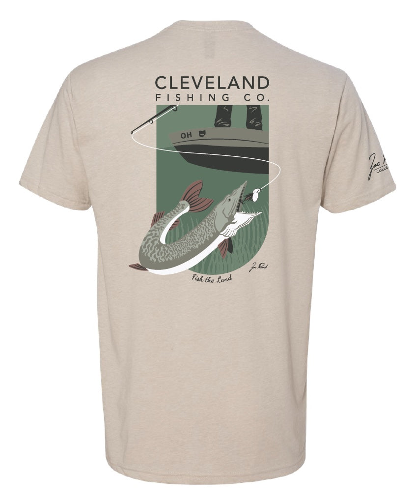 Zac Rorick Collection - Muskie Tee