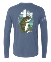 Zac Rorick Collection - Smallmouth Bass Long Sleeve Tee