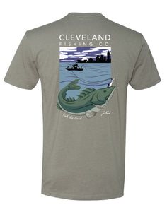 Zac Rorick Collection - Walleye Tee