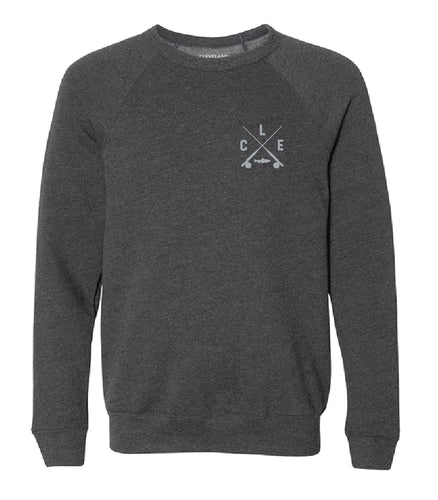 Crewneck Sweatshirt - Dark Grey Heather