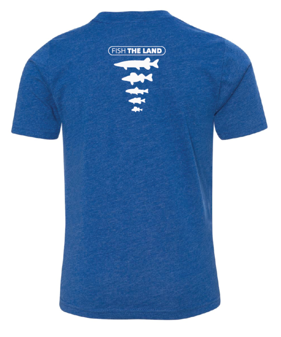 The Minnow - YOUTH Tee - Blue