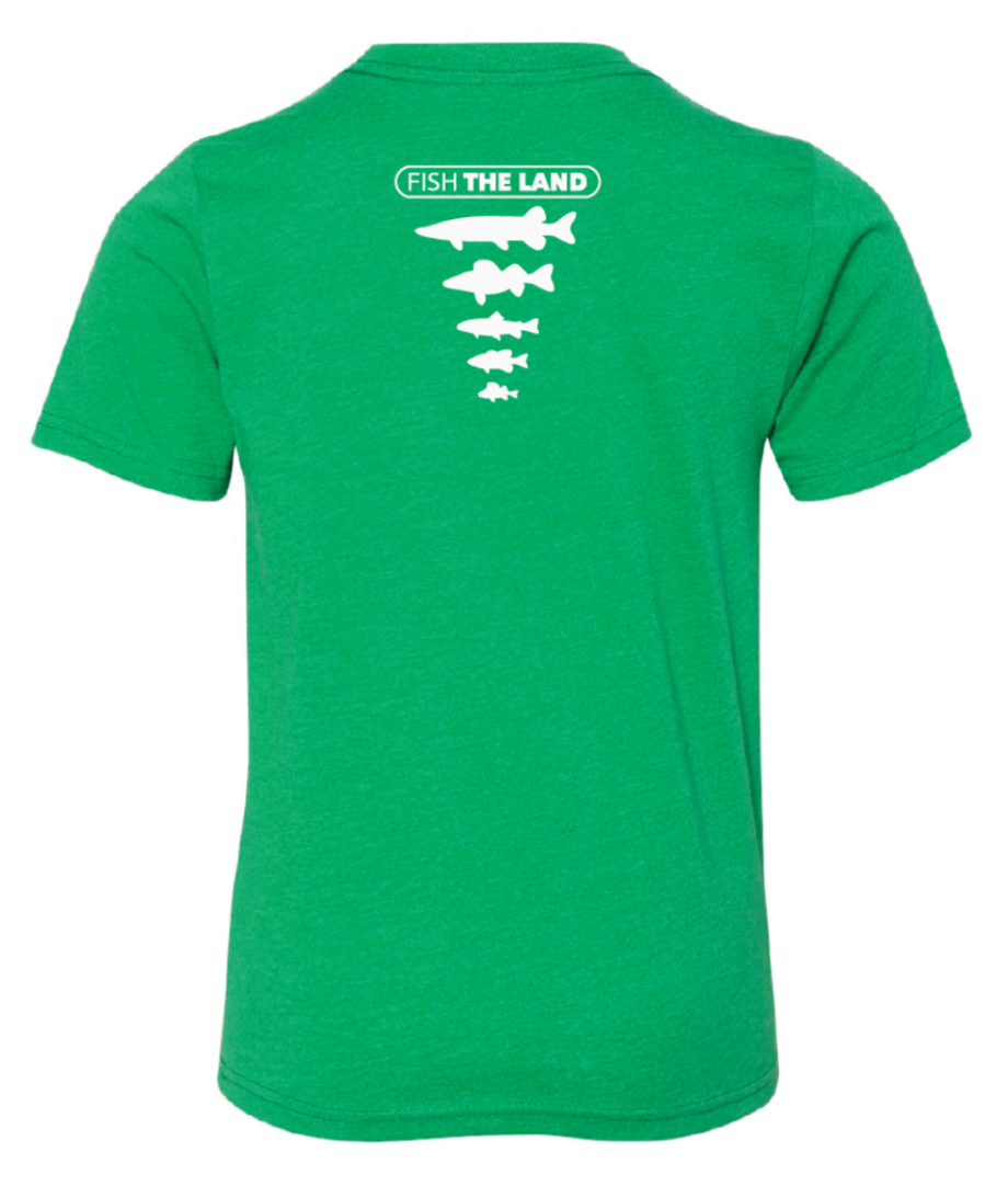 The Minnow - YOUTH Tee - Green