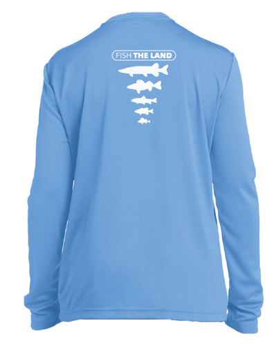 YOUTH Performance Long Sleeve - Sky Blue