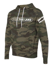 Camo Pullover Hoodie - Green