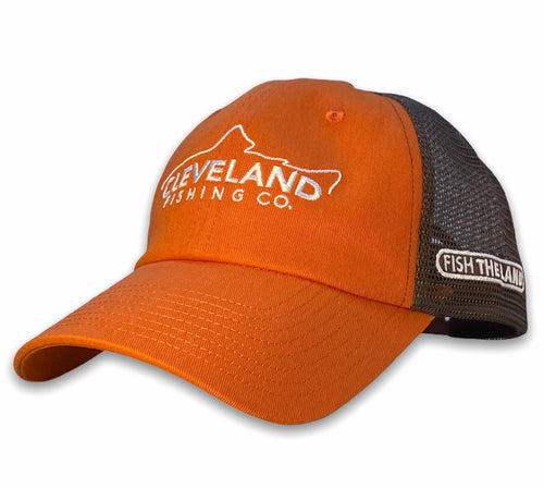 The Grand - Unstructured Hat - Orange / Brown