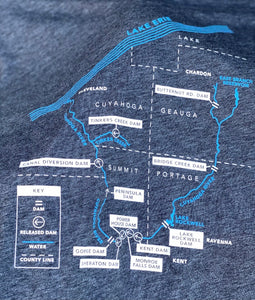 FREE THE CUYAHOGA - Long Sleeve Tee