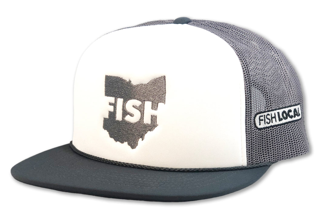 Foam Trucker Hat - FISH OHIO