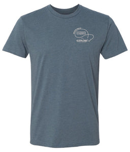 OG Walleye Whistle - Tee