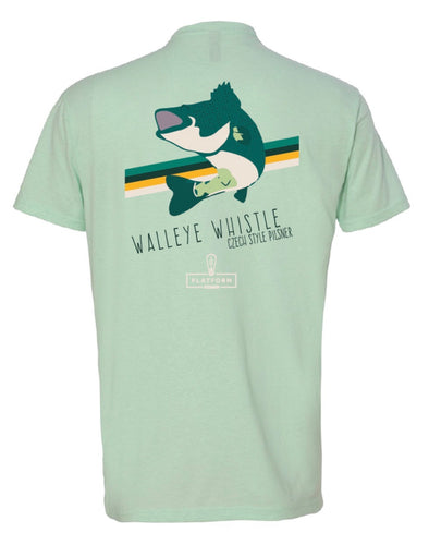 Walleye Whistle Cans - T Shirt