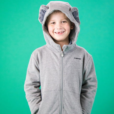 Load image into Gallery viewer, Koala Hoodie - Dark Grey