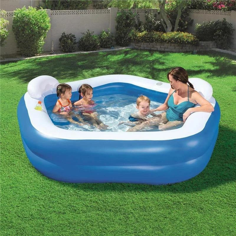 family lounge inflatable pool