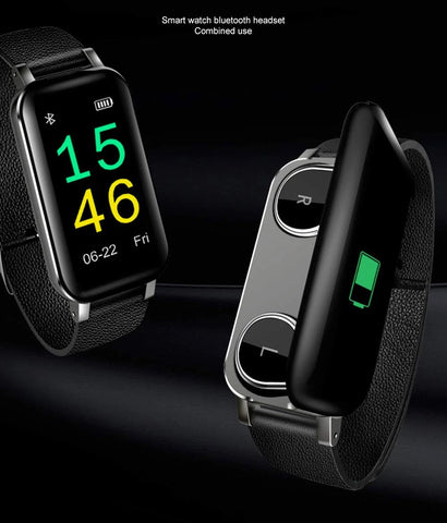 smart watch with earphones