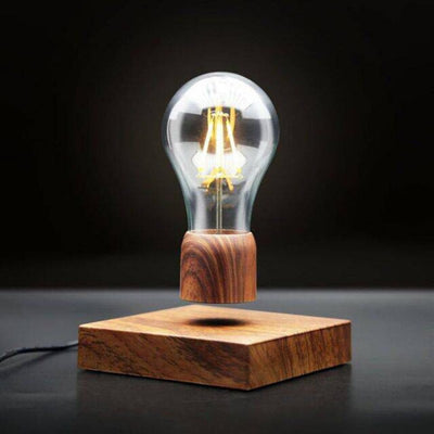Magnetic Levitating Light Bulb