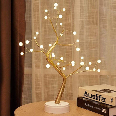 Nebula Light Gold Base (Larger Bulb Heads) The Fairy Light Spirit Tree Lamp