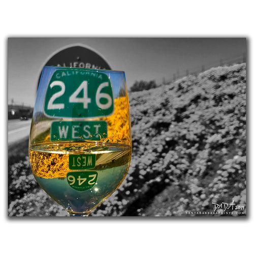 Wineglasses - 1, Highway 246