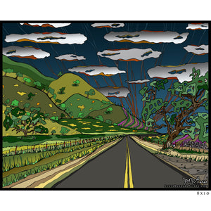 SYV - Entering Happy Canyon - Santa Barbara County